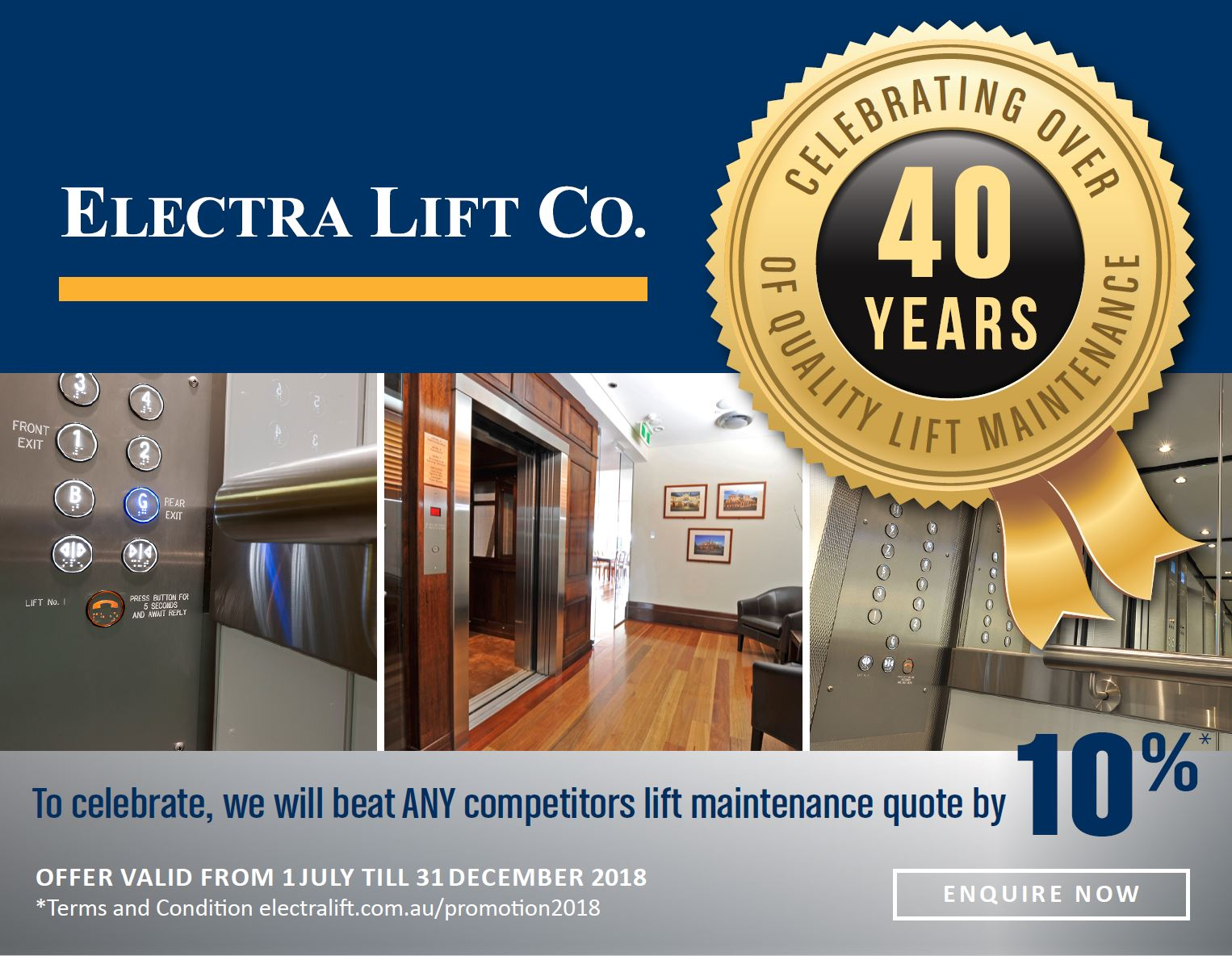 Electra Lift Promotion 2018